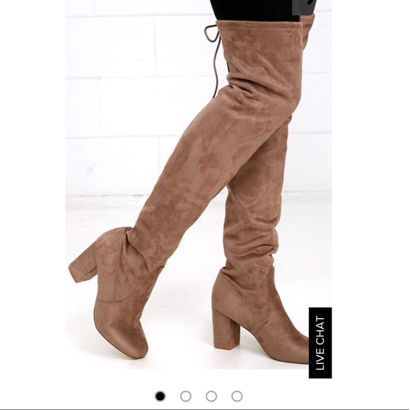 1c586d1f074 Chinese laundry tan over the knee boots! Brand new